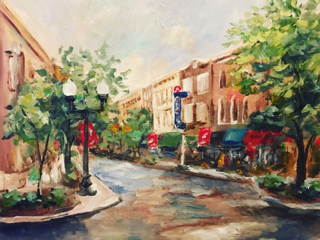 franklin tn downtown painting